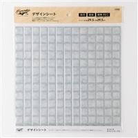 Kumimoku デザインシート タイル 大 ホワイトマーブル