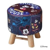 木脚スツール専用カバー ミッキーマウス