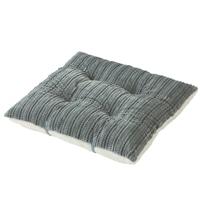 【2019秋冬】ごろ寝枕にもなるふんわりフロアクッション グレー