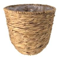 天然鉢カバー ボーダー M