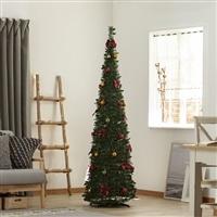 ポップアップクリスマスセットツリー スリム 180cm GN