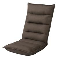 B25レバー式倒れにくい座椅子 ブラウン