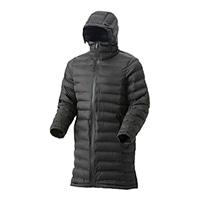 【2019秋冬】KUROCKER'S Hot-fine フード付きウォームロングコート シームレス ブラック L