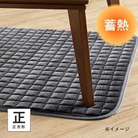 【2019秋冬】蓄熱こたつ敷きパッド ネージュ&pet 正方形 95×95