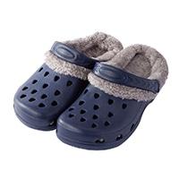 【2019秋冬】EVA ボアサンダル ネイビー 25〜26cm