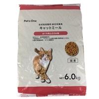 Pet'sOne キャットミール まぐろ味とささみ味 6.0kg