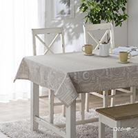 菌や臭いを防ぐテーブルクロス カトラリー 120×150