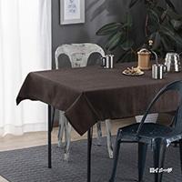 汚れが付きにくいテーブルクロス ブラン 120×150
