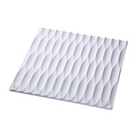 壁に掛けられる珪藻土調湿ボード 28×28 ホワイト