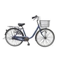 【店舗限定】【自転車】U型フレーム軽快車 GAVLE イエブレ 24インチ オートライト CF19-UCP241HD ブルー