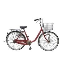 【自転車】U型フレーム軽快車 GAVLE イエブレ 26インチ オートライト CF19-UCP261HD ローズ