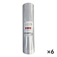 【ケース販売】カインズ ストレッチフィルム 18ミクロン 500mm×300m 6巻入り[4549509596509×6]