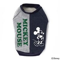 【2019秋冬】きりかえトレーナー ミッキーマウス グレー Mサイズ