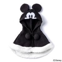 【数量限定・2019秋冬】ケープ ブラック ミッキーマウス