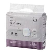 【ケース販売】CAINZ ケアフィール ゆったり安心 パンツタイプ L 56枚(28枚×2個)[4549509608806×2]
