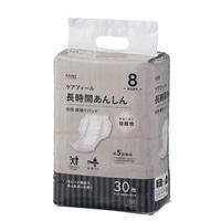 【ケース販売】CAINZ ケアフィール 長時間あんしん 夜用 尿とりパッド 180枚(30枚×6個)[4549509609025×6]