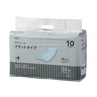 【ケース販売】CAINZ ケアフィール フラットタイプ 120枚(30枚×4個)[4549509609063×4]