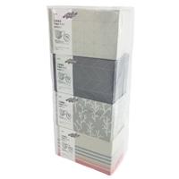 三層構造 不織布マスク 大人用 やや小さめ 60枚×4個パック デザインボックス