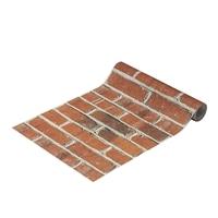 Kumimoku マスキングテープ 壁紙用 赤レンガ 23cm×2.5m