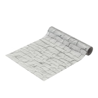 Kumimoku マスキングテープ 壁紙用 ホワイトレンガ 23cm×2.5m
