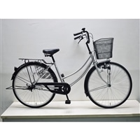 【自転車】軽快車 26インチ CF19-WB261 シルバー