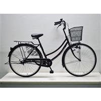【自転車】軽快車 26インチ CF19-WB261 ワインレッド
