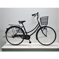 【自転車】軽快車 26インチ CF19-WB261 ブラック