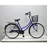 【自転車】軽快車 26インチ CF19-WB261 ブルー