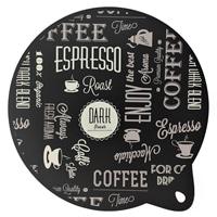 IHマット24.5cm 2P コーヒーブラック