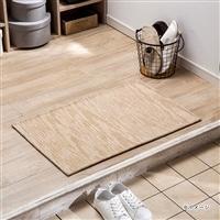 ずれにくい洗える玄関マット ゴブラン 50×80 ベージュ