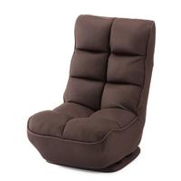 テレビが見やすく立ち座りがしやすい回転座椅子 ブラウン