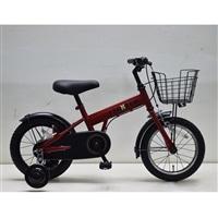 【自転車】補助付き幼児車 フェクター 14インチ レッド