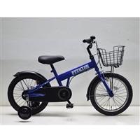 【自転車】補助付き幼児車 フェクター 16インチ ブルー