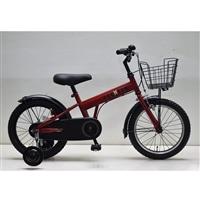 【自転車】補助付き幼児車 フェクター 16インチ レッド