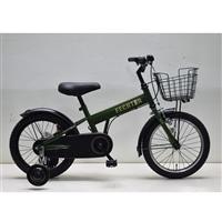 【自転車】補助付き幼児車 フェクター 16インチ カーキ