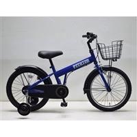 【自転車】補助付き幼児車 フェクター 18インチ ブルー