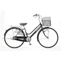 【自転車】キラクル KiLaCle パンクしにくい軽快車 27インチ 内装3段 LEDオートライト ブラック