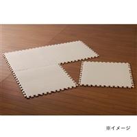 パズルマット 58×58 4枚組 アイボリー
