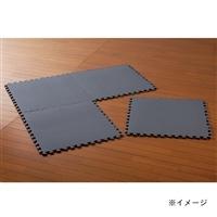 パズルマット 58×58 4枚組 ブラック