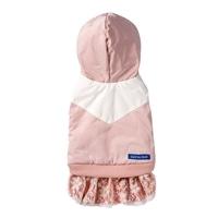 【数量限定・2019秋冬】OLIVE des OLIVE レーススカート付きパーカー ピンク Mサイズ