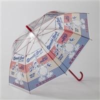 【数量限定】折れにくい ビニールジャンプ傘 ドナルドダック 58cm