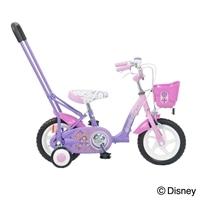 【店舗限定】【自転車】押して棒付きディズニー幼児車 ちいさなプリンセスソフィア 12インチ