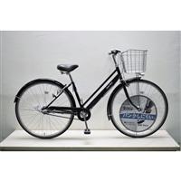 【自転車】キラリ27パンクしにくいシティ車内装3段オートライト ブラック