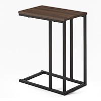 C4 ソファにセットしやすいサイドテーブル ブラウン