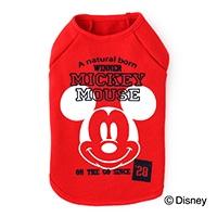 【2020春夏】トレーナー ミッキーマウス レッド 2Lサイズ