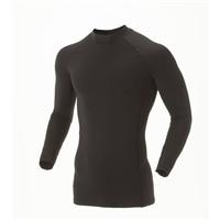 KUROCKER'S 接触冷感コンプレッションシャツ 長袖 ブラック M