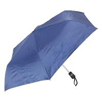 片手で開閉できる折りたたみ傘 55cm ネイビー