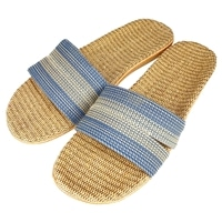 サンダルとしても履けるスリッパ 27cm ブルー