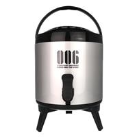 スポーツ飲料対応 保冷用ウォータージャグ 6型 ブラック