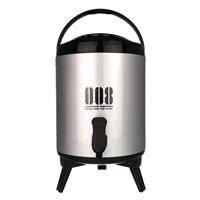 スポーツ飲料対応保冷用ウォータージャグ 8型 ブラック
